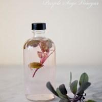 Herb Infused Flavored Vinegars