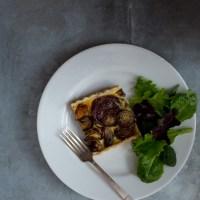 Onion Tart with Goat Cheese Custard