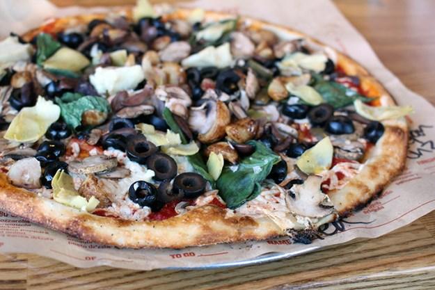 blaze pizza side view