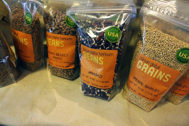 heirloom grains and beans store in napa