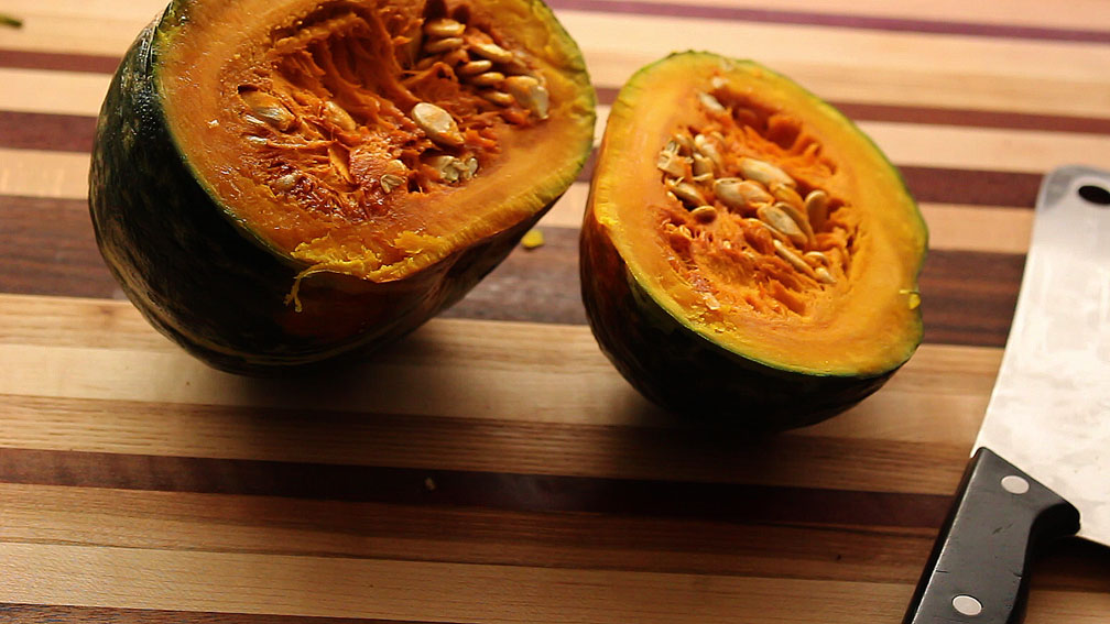 My Trick to Cutting Kabocha Squash Easily