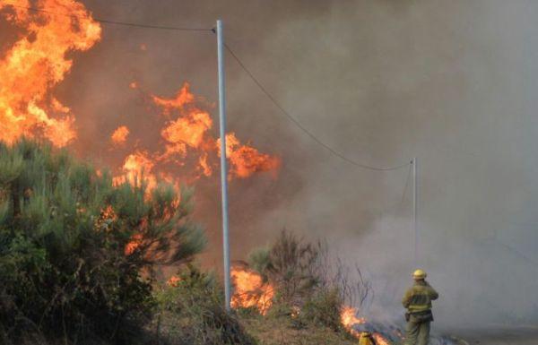 peligro incendios forestales