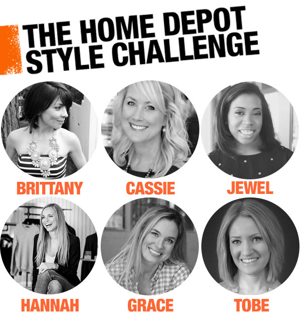 home depot patio challenge