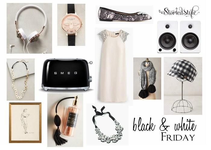 black white gift ideas