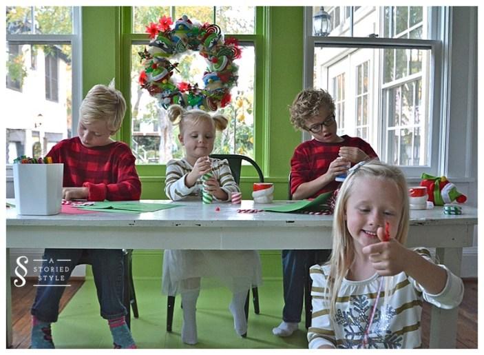 kids in playroom