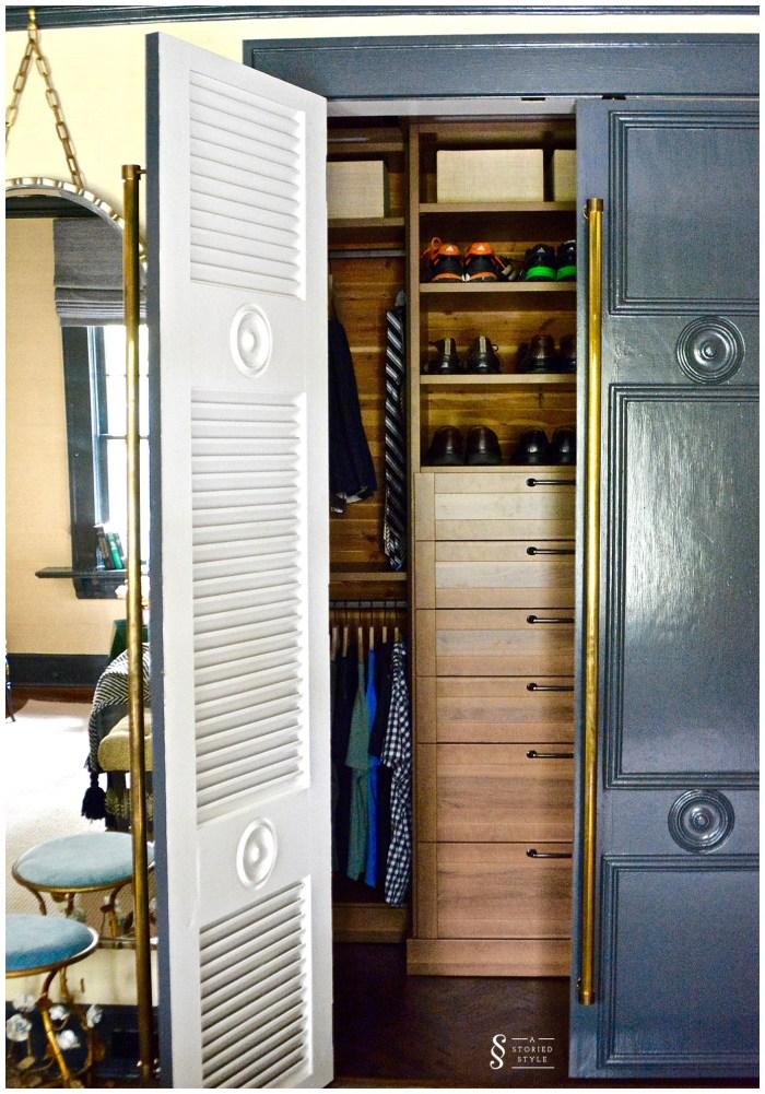 master bedroom closet makeover
