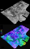 Radarbeelden van Hotei Arcus