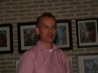 KLaas-Jan Mook bij z'n voordracht bij Huygens