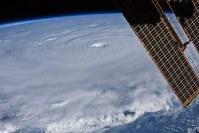 Earl vanuit het ISS