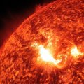 De zonnevlam van AR 1429 - active region 1429