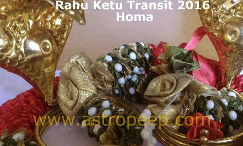 Rahu Ketu Transit 2016 Homa and Pooja – 25th January 2016