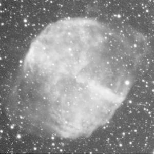 M27 filtro H-alpha - Cielo profundo