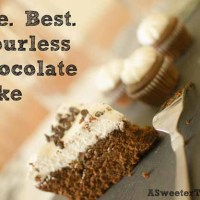 The. Best. Flourless Chocolate Cake