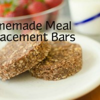 Homemade Meal Replacement Bars
