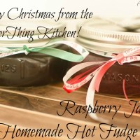 Raspberry Jam & Homemade Hot Fudge Sauce