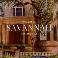 One Day in Savannah: Squares and Walking Tours
