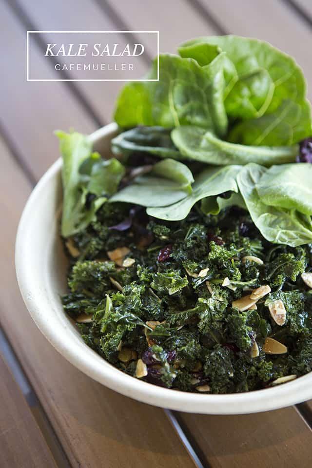 Kale Salad, Cafe Mueller