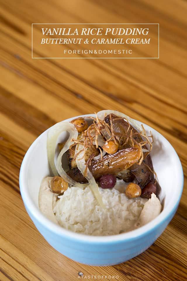 Vanilla Pudding, Foreign & Domestic