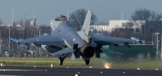 F16 departure EHAM