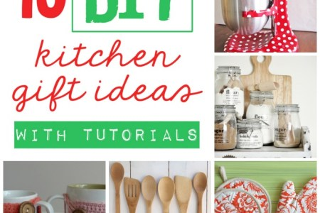 10 diy kitchen gift ideas (& tutorials) a teas of