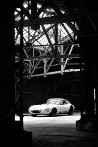 Jaguar Type E Série 1 - Vue de profil