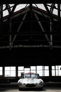 Jaguar Type E Série 1 - Vue de face