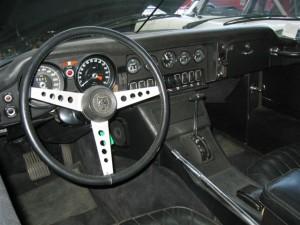 Intérieur voiture de collection