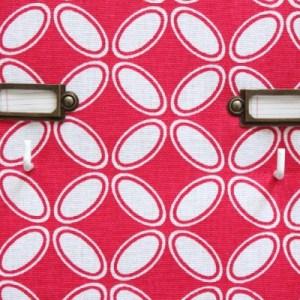 Porte-clés personnalisable rouge