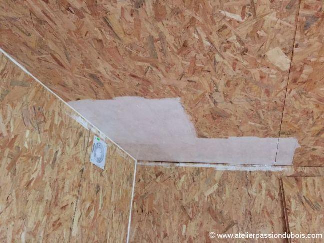 Construction atelier bois part9 atelier passion du bois for Technique pour peindre un plafond