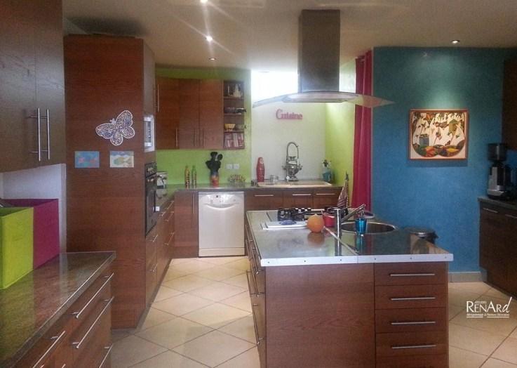 Peinture et enduit d coratif - Enduit decoratif cuisine ...