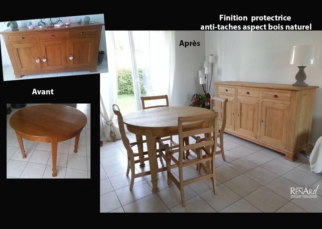 Aérogommage bois, galeries photos  Ateliers Renard 91