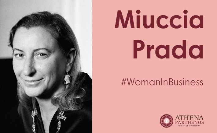 #WomanInBusiness – Miuccia Prada