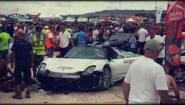 Μια Porsche σκόρπισε τον απόλυτο τρόμο!!!