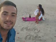 Στο Ελαφονήσι είπε το «ναι» στην πρόταση γάμου…