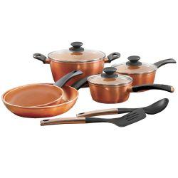 Small Of Copper Pot Set