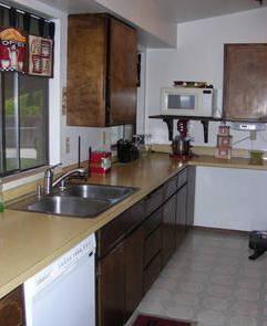 70's kitchen before