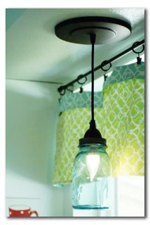 mason jar pendant light