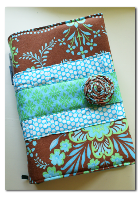 Zippered Book Cover Tutorial ~ Handmade fabric bible cover and a surprise time for