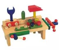 bancada de ferramentas para brinquedoteca