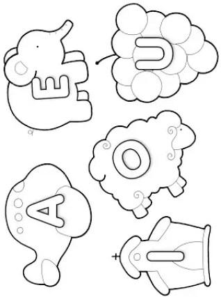 Reforce o Aprendizado com Essas Atividade sobre Vogais   alfabeto e palavras    Atividades para Educacao Infantil