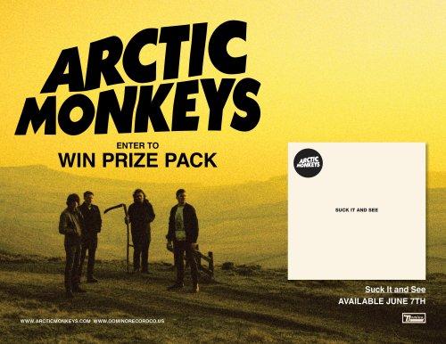 ArcticMonkeysPrizePack
