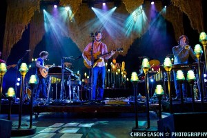 Picture Book: Bon Iver with The Staves at Verizon Wireless Amphitheatre June 8 2012