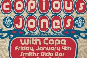 AMG Weekend Picks: Copious Jones, BAIR, Molly Hunt & More!