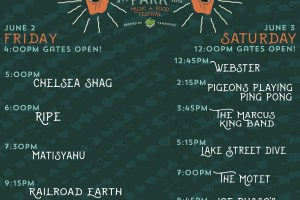 Candler Park Music and Food Festival Schedule Announced!