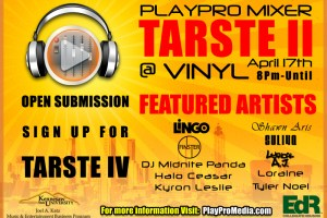 PlayPro Media presents The A&R Southern Talent Expo II at Vinyl, 4/17