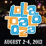 2013 Lollapalooza Line-Up