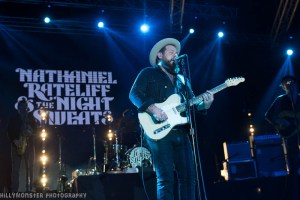 Nathaniel Rateliff & the Night Sweats, Kongos, The Struts and Unlikely Candidates at The Atlanta Coliseum 12/02/16