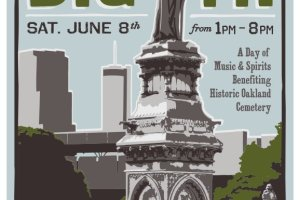 Just Announced: Tunes from the Tombs, Saturday 6/8, Oakland Cemetery