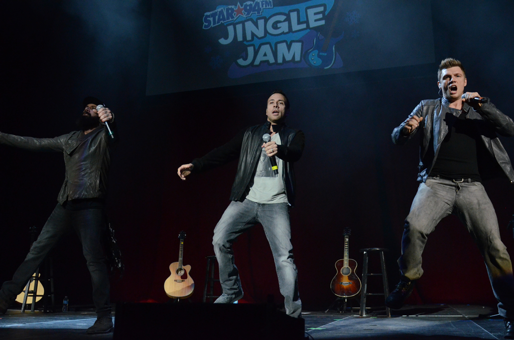 The Backstreet Boys 12