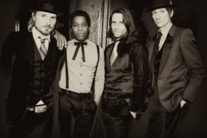 5GB With Vintage Trouble; Playing With The Kicks @ Smith's Olde Bar, April 7th